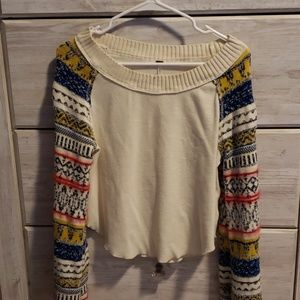 Free people cropped thermal